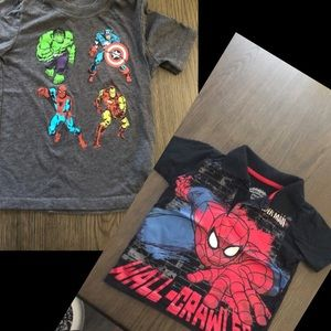 3/$15 Two tees